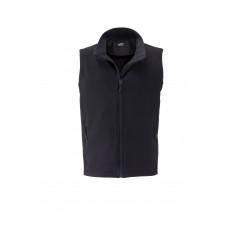 Жилет мужской JN1128 Men's Promo Softshell Vest - Черный/Черный