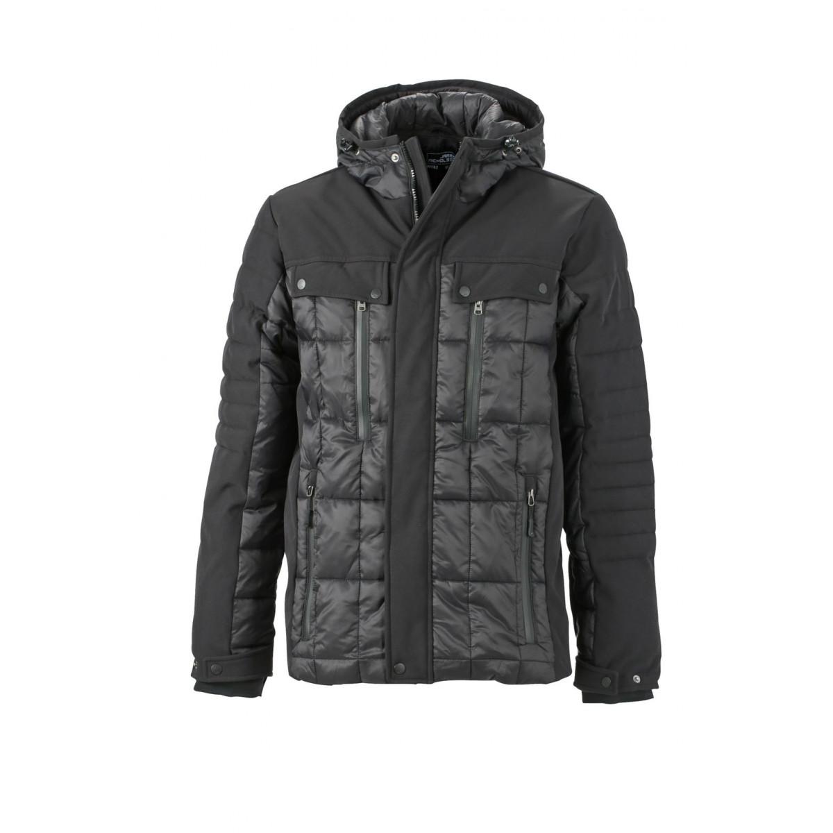 Куртка мужская JN1102 Mens Wintersport Jacket - Черный/Черный