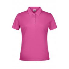 Рубашка поло женская JN791 Basic Polo Lady - Розовый