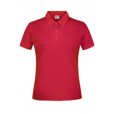 Рубашка поло женская JN791 Basic Polo Lady - Красный