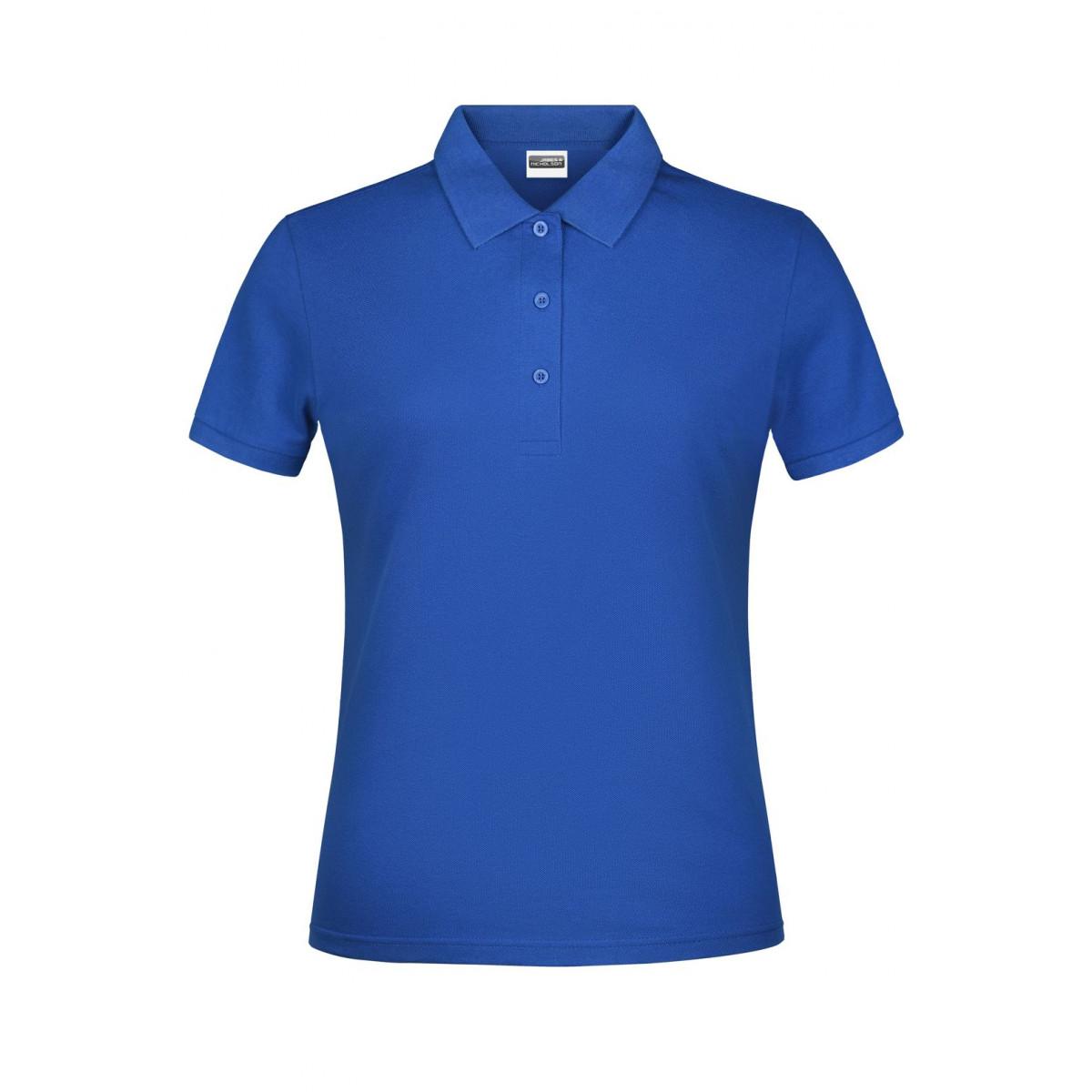 Рубашка поло женская JN791 Basic Polo Lady - Ярко-синий