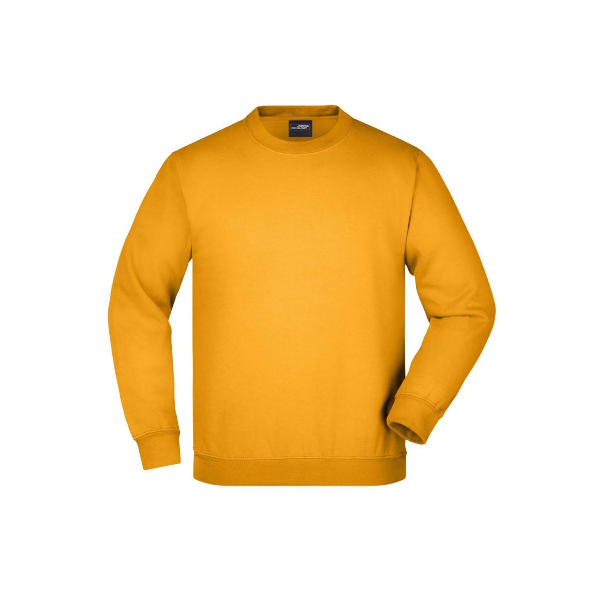 Толстовка детская JN040K Round Sweat Heavy Junior - Золоистый желтый