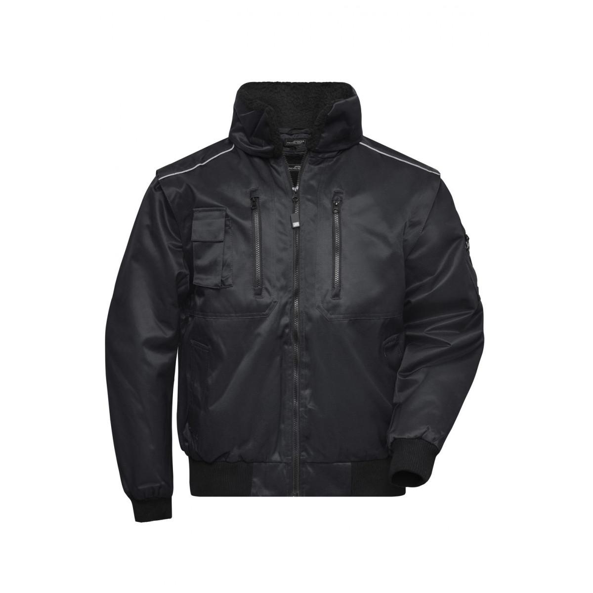 Куртка мужская JN812 Pilot Jacket 3 in 1 - Черный