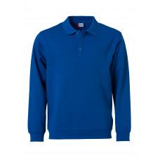 Толстовка унисекс 021032 Basic Polo Sweater - Ярко-синий