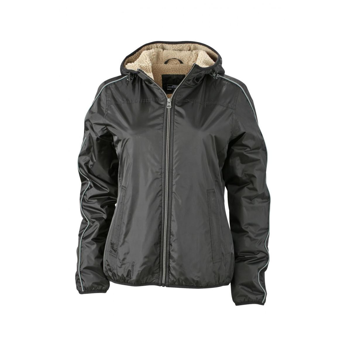 Куртка женская JN1103 Ladies Winter Sports Jacket - Черный/Желтый