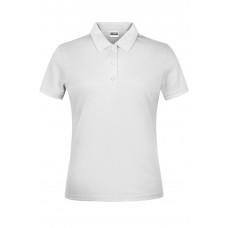 Рубашка поло женская JN791 Basic Polo Lady - Белый