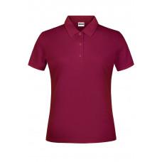Рубашка поло женская JN791 Basic Polo Lady - Бордовый