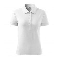 Рубашка поло женская 216 Cotton Heavy - Белый