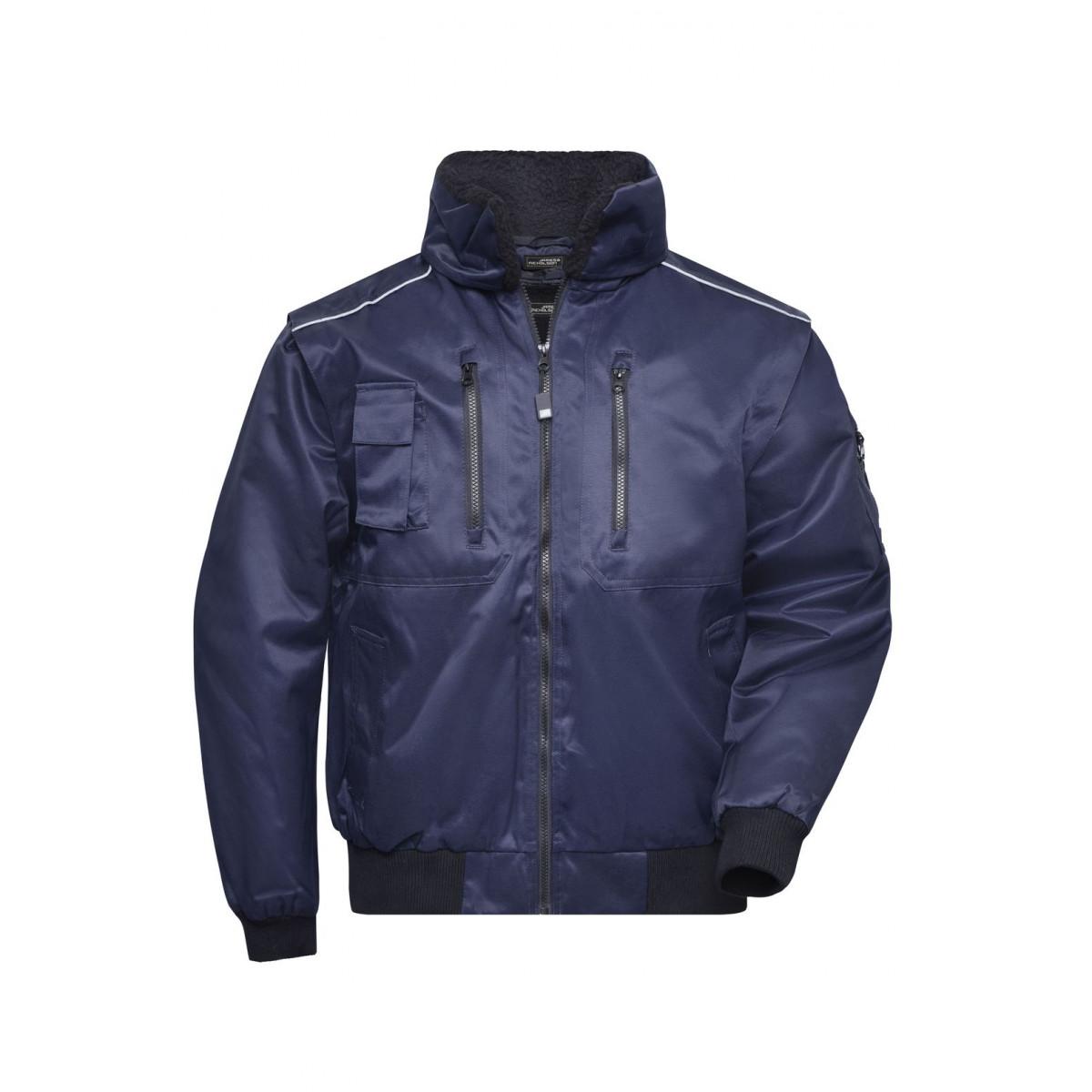 Куртка мужская JN812 Pilot Jacket 3 in 1 - Темно-синий