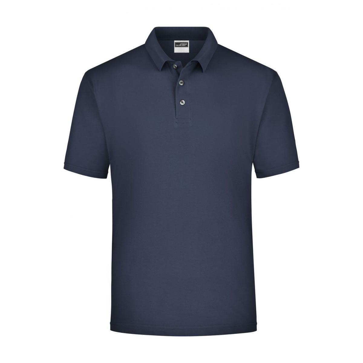 Рубашка поло мужская JN020 Polo Piqué Medium - Темно-синий