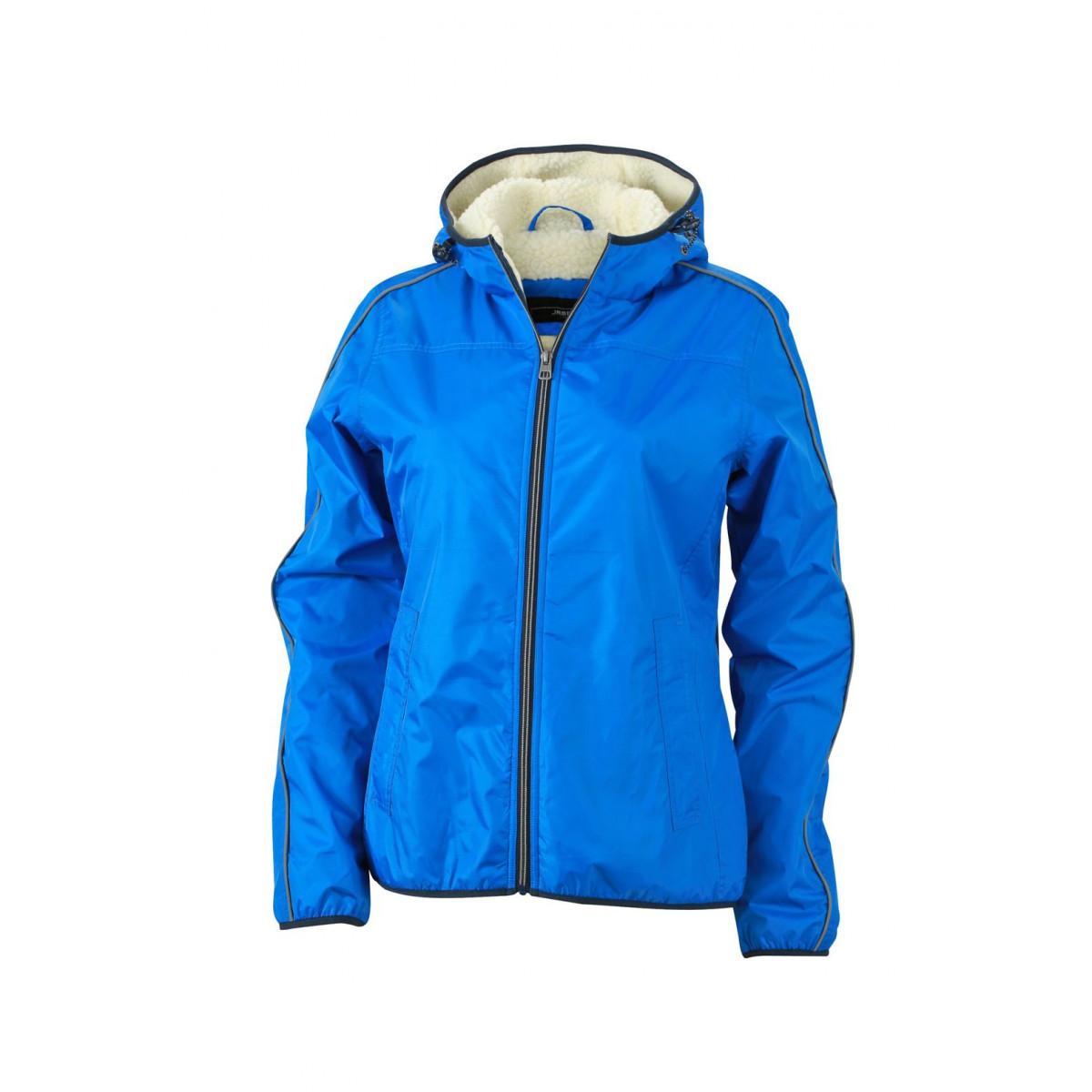 Куртка женская JN1103 Ladies Winter Sports Jacket - Ярко-синий/Белый