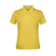Рубашка поло женская JN791 Basic Polo Lady - Желтый