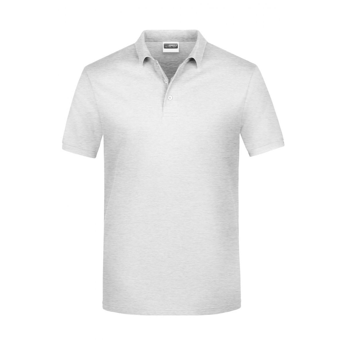 Рубашка поло мужская JN792 Basic Polo Man - Пепельный
