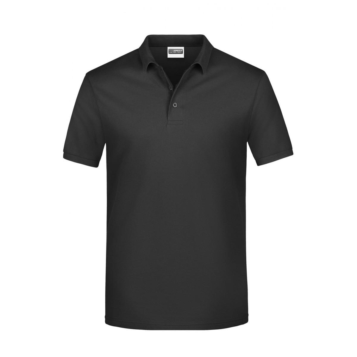 Рубашка поло мужская JN792 Basic Polo Man - Черный