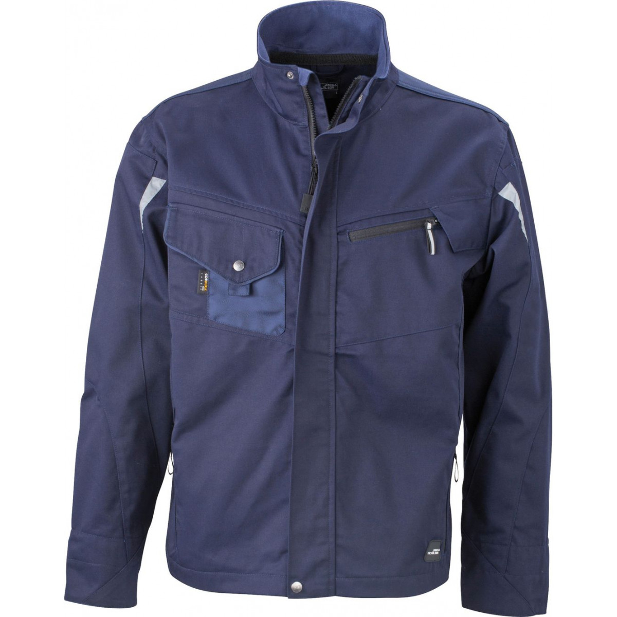 Куртка мужская JN821 Workwear Jacket - Темно-синий/Темно-синий