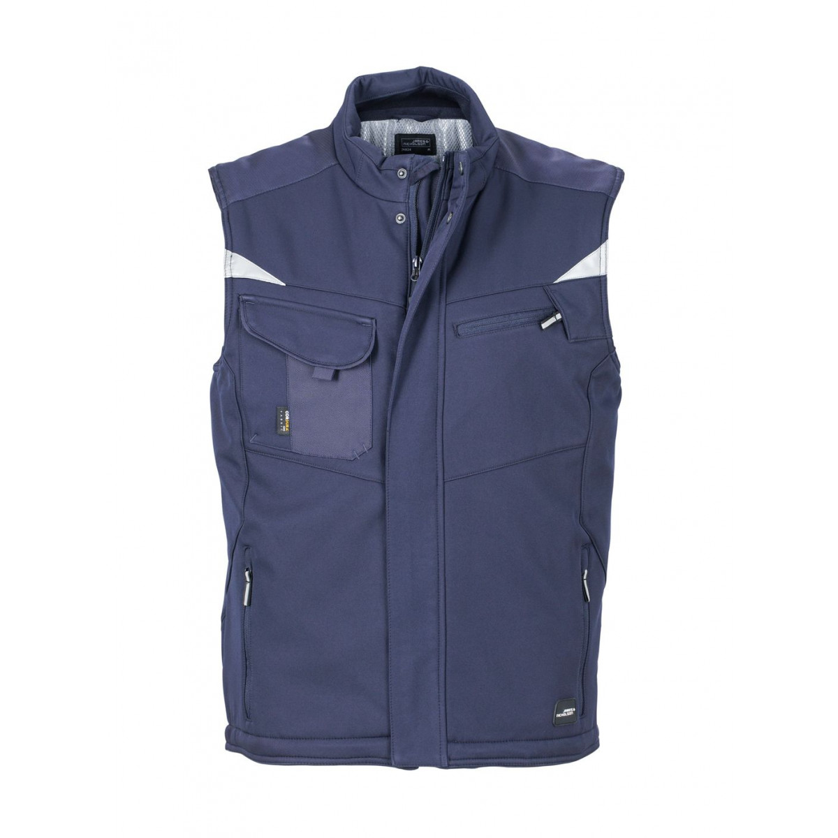 Жилет мужской JN825 Craftsmen Softshell Vest - Темно-синий/Темно-синий