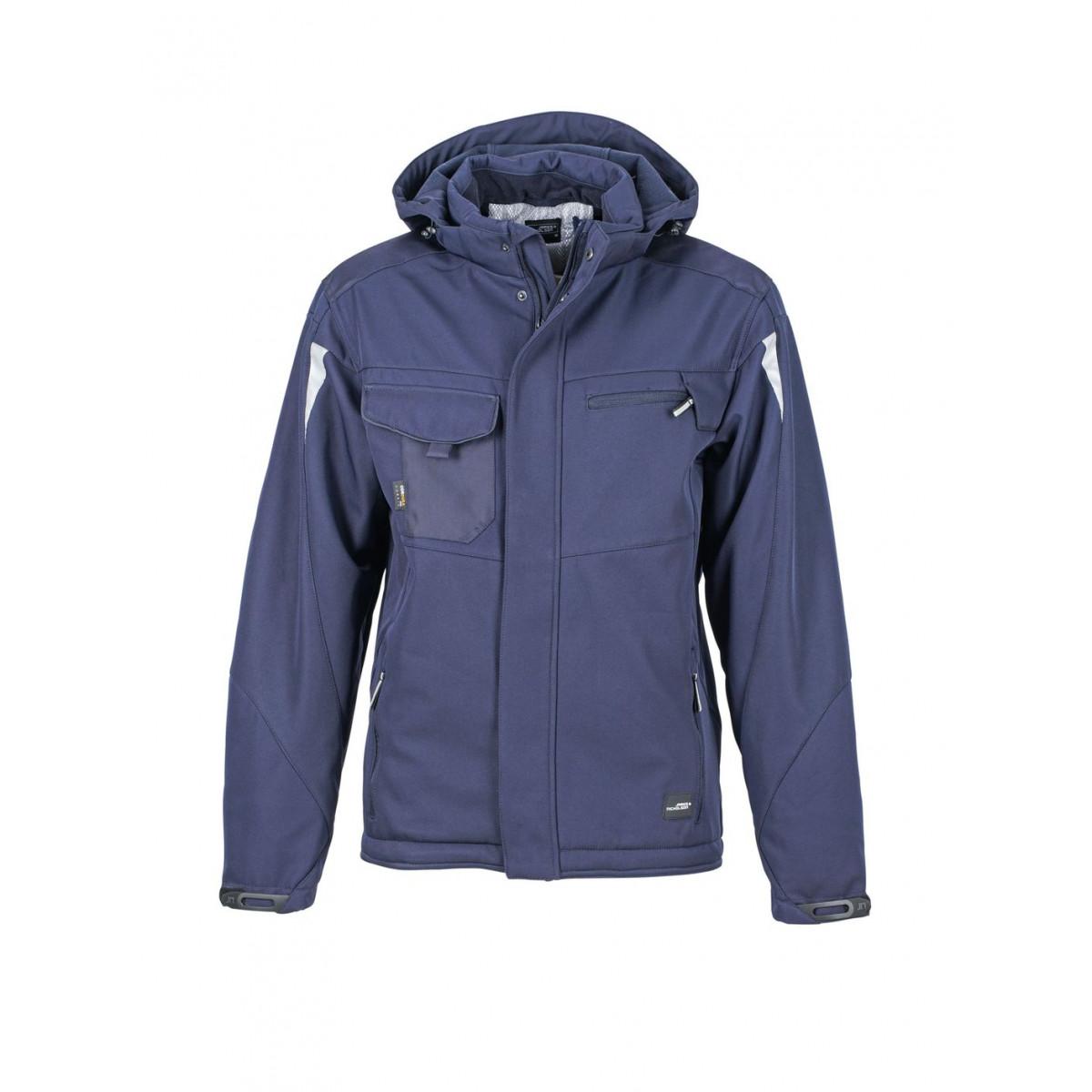 Куртка мужская JN824 Craftsmen Softshell Jacket - Темно-синий/Темно-синий