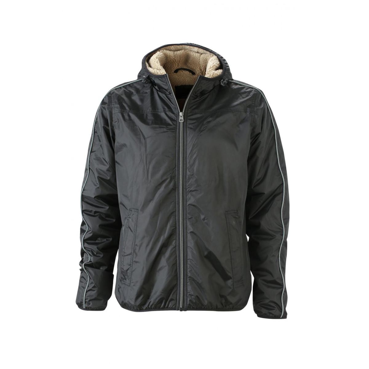 Куртка мужская JN1104 Mens Winter Sports Jacket - Черный/Желтый