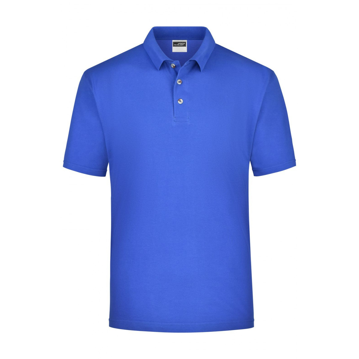 Рубашка поло мужская JN020 Polo Piqué Medium - Ярко-синий