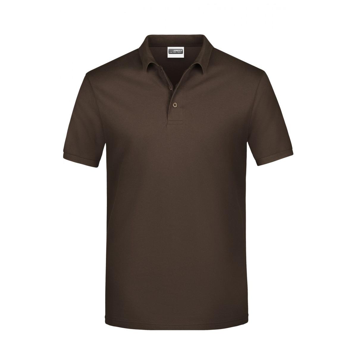 Рубашка поло мужская JN792 Basic Polo Man - Коричневый