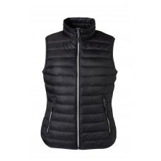 Жилет женский JN1137 Ladies' Down Vest - Черный/Серебряный