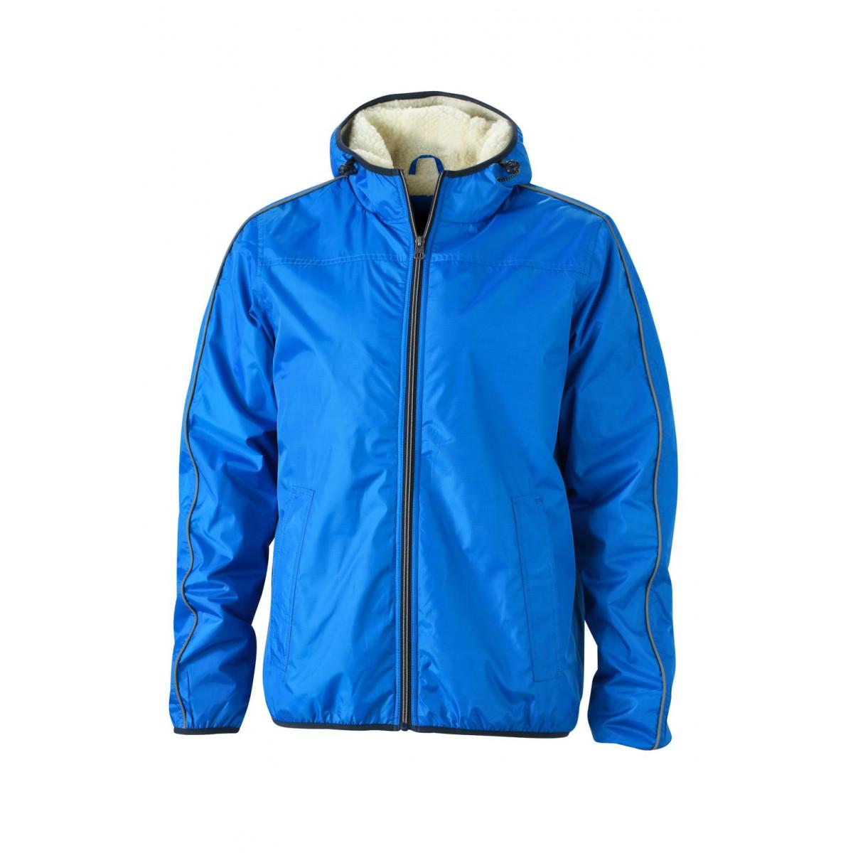 Куртка мужская JN1104 Mens Winter Sports Jacket - Ярко-синий/Белый