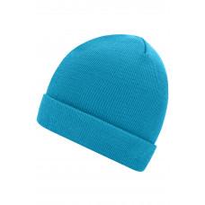 Шапка MB7500 Knitted Cap - Аква