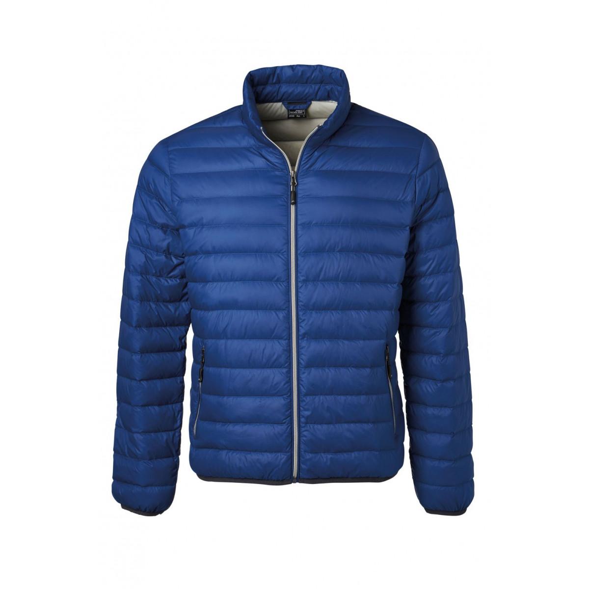 Куртка мужская JN1140 Mens Down Jacket - Темно-синий/Серебряный