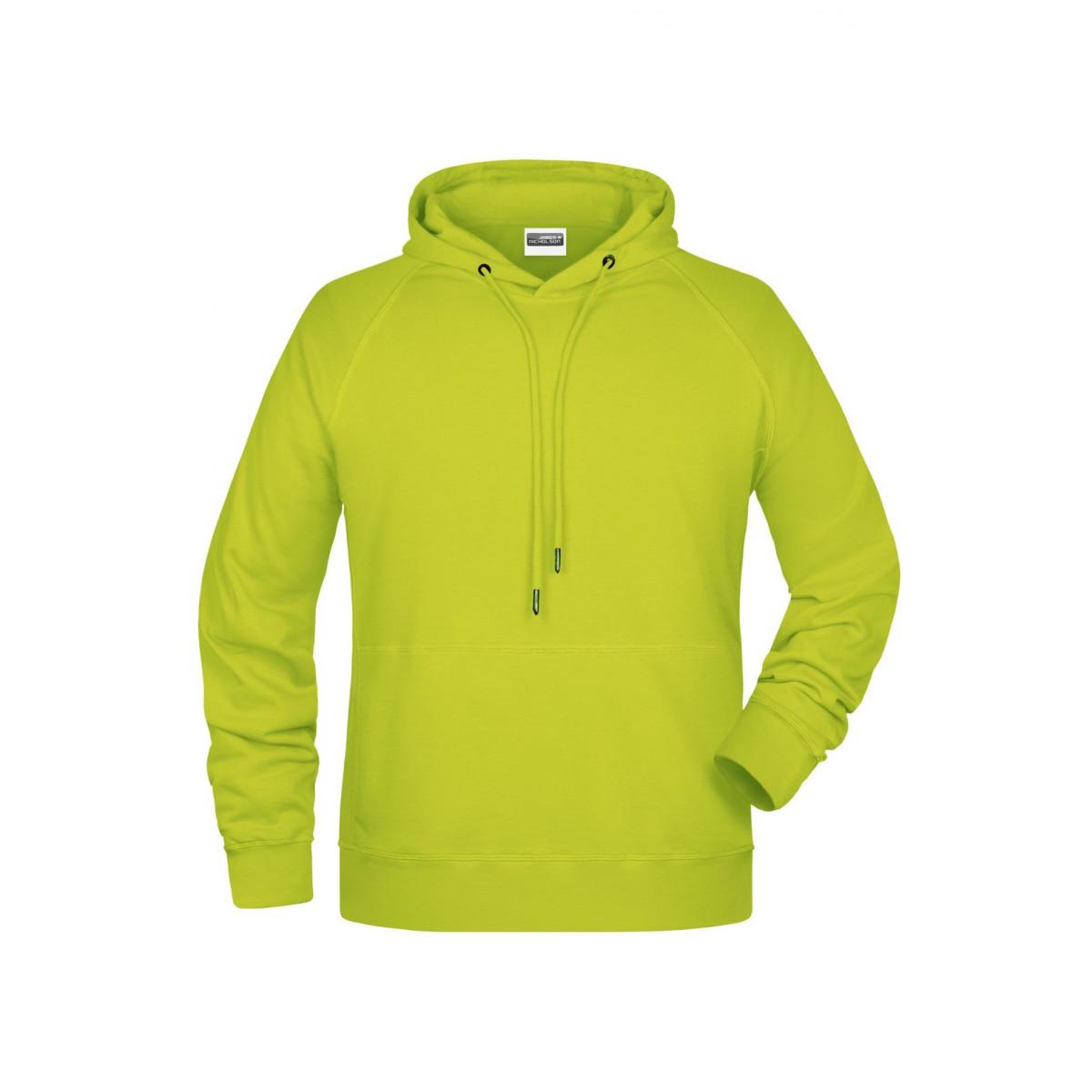 Толстовка мужская 8024 Mens Hoody - Ярко-желтый