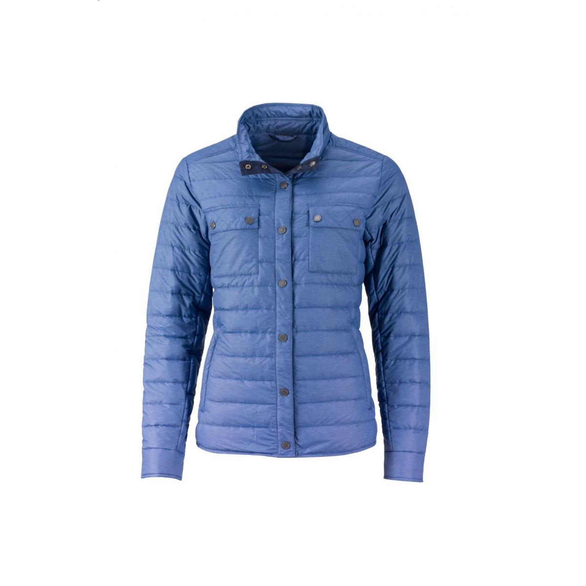 Куртка женская JN1105 Ladies Lightweight Down Jacket - Джинс меланж