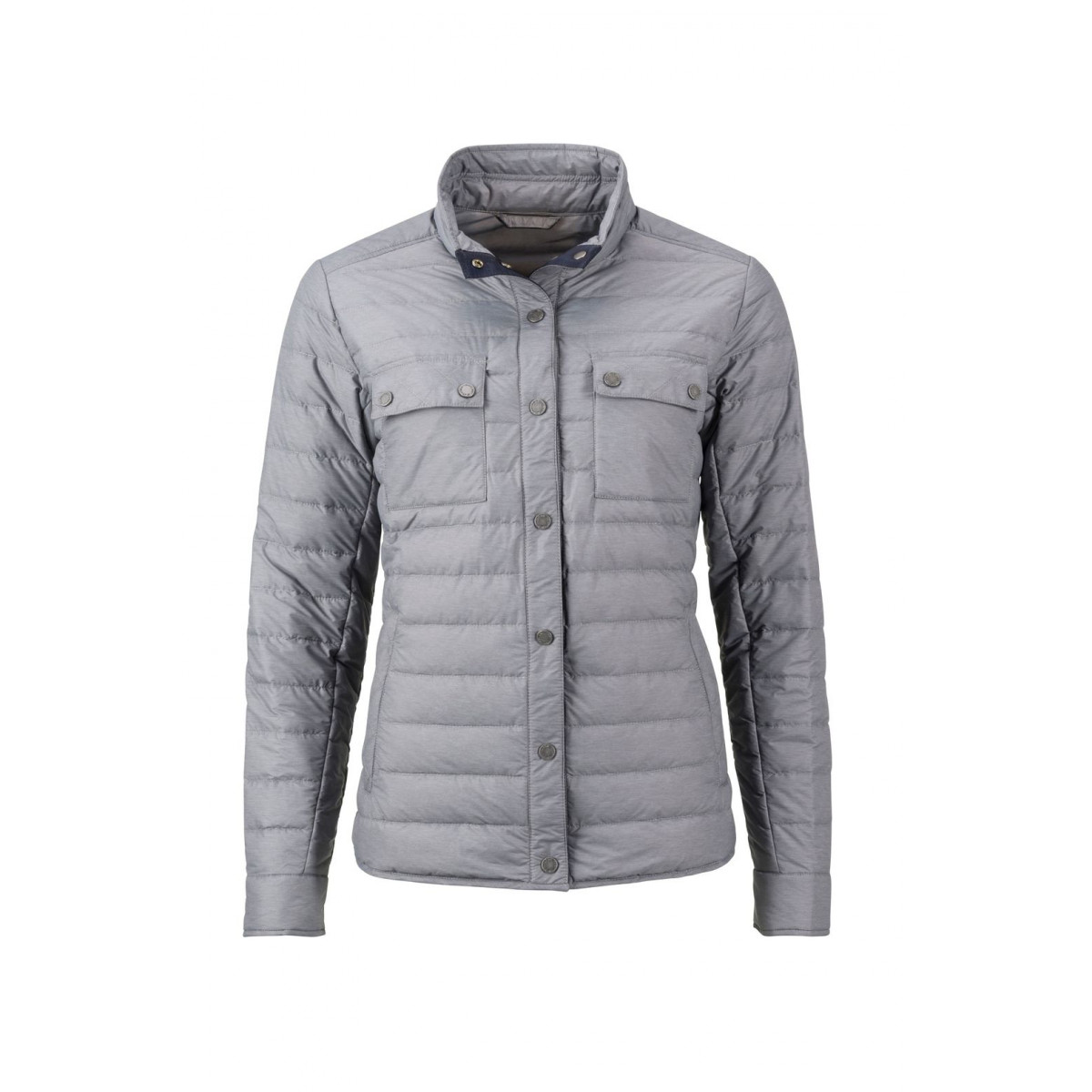 Куртка женская JN1105 Ladies Lightweight Down Jacket - Светло-серый меланж