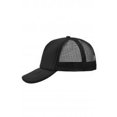 Бейсболка MB070 5 Panel Polyester Mesh Cap - Черный