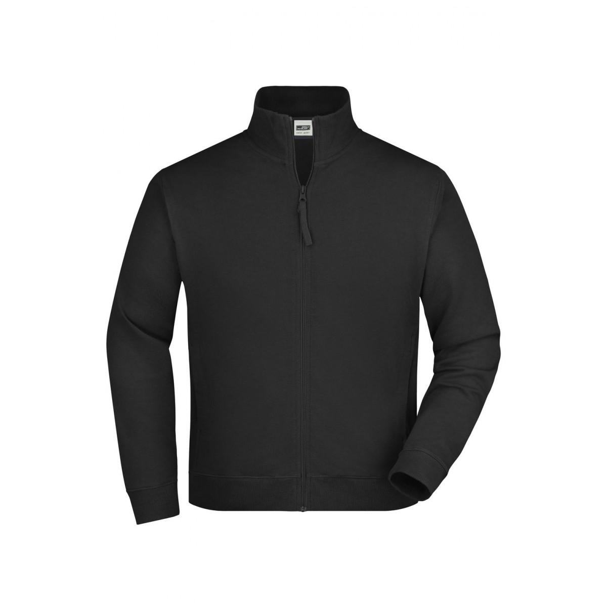 Толстовка мужская JN058 Sweat Jacket - Черный