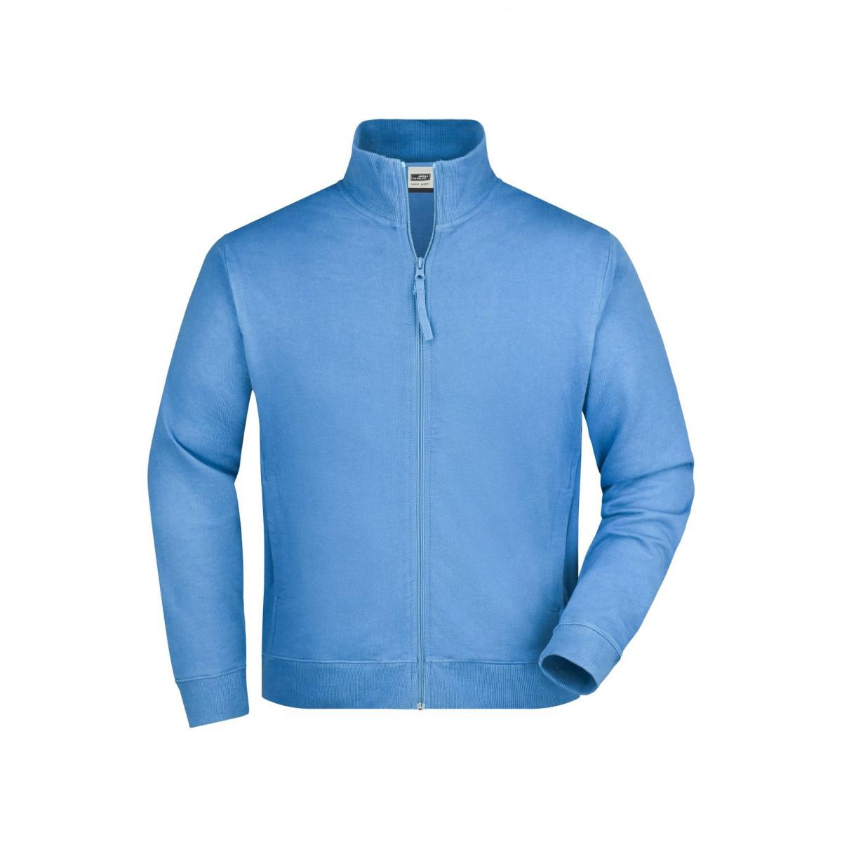 Толстовка мужская JN058 Sweat Jacket - Голубой