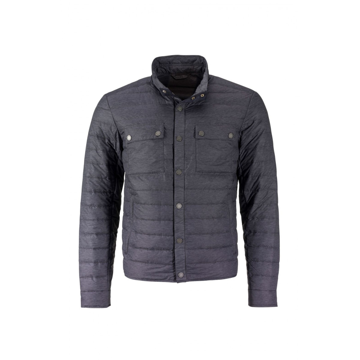 Куртка мужская JN1106 Mens Lightweight Down Jacket - Черный меланж