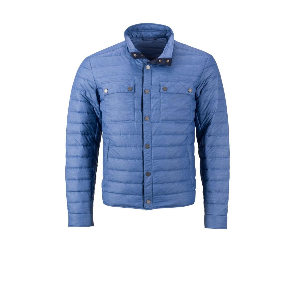 Куртка мужская JN1106 Mens Lightweight Down Jacket - Джинс меланж