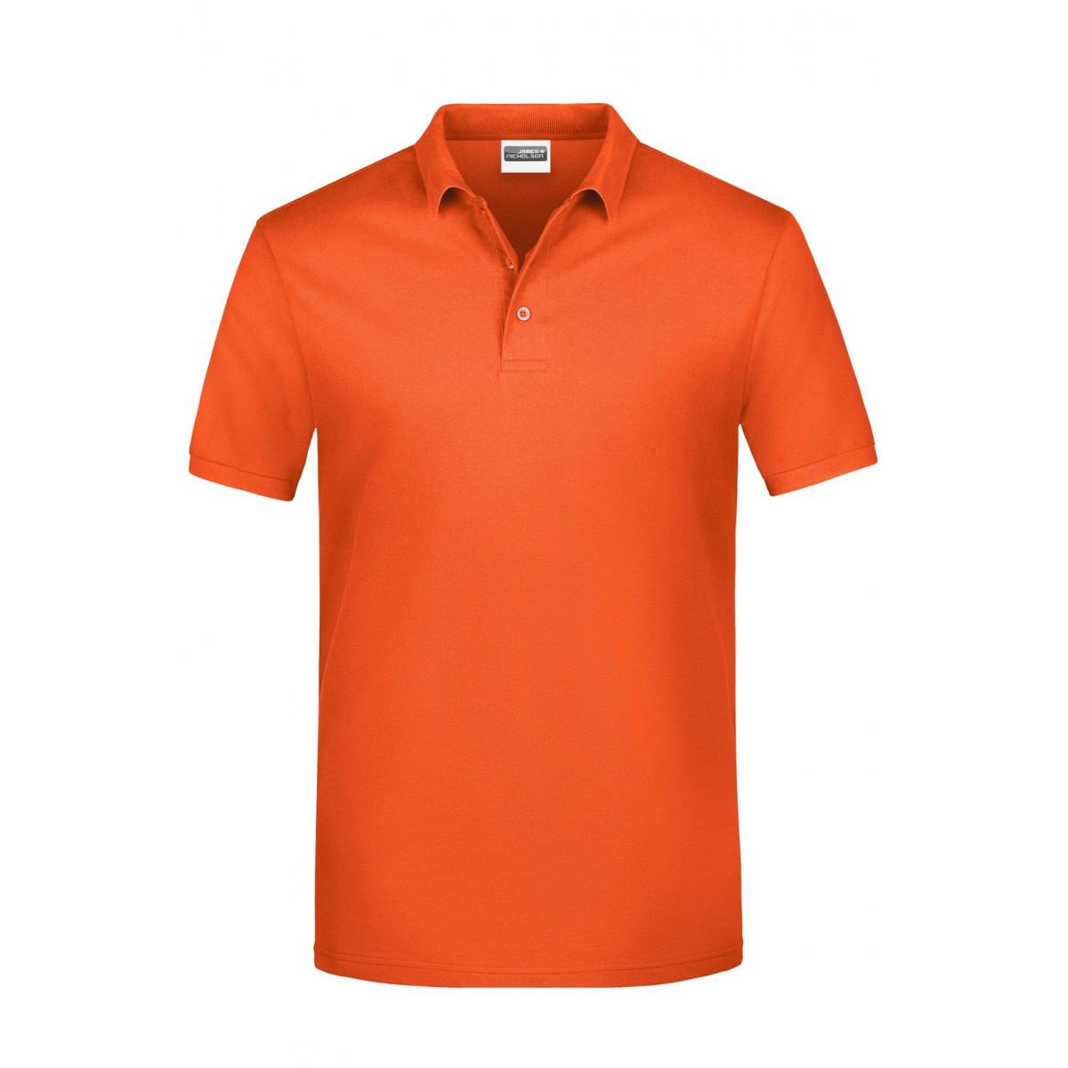 Рубашка поло мужская JN792 Basic Polo Man - Оранжевый