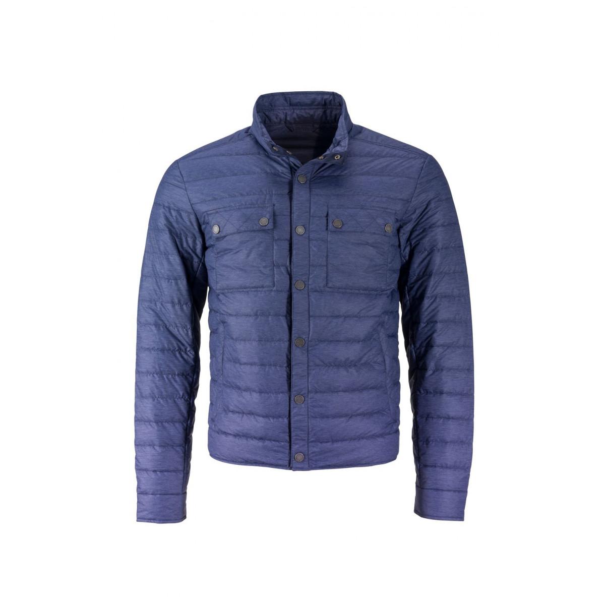 Куртка мужская JN1106 Mens Lightweight Down Jacket - Темно-синий меланж