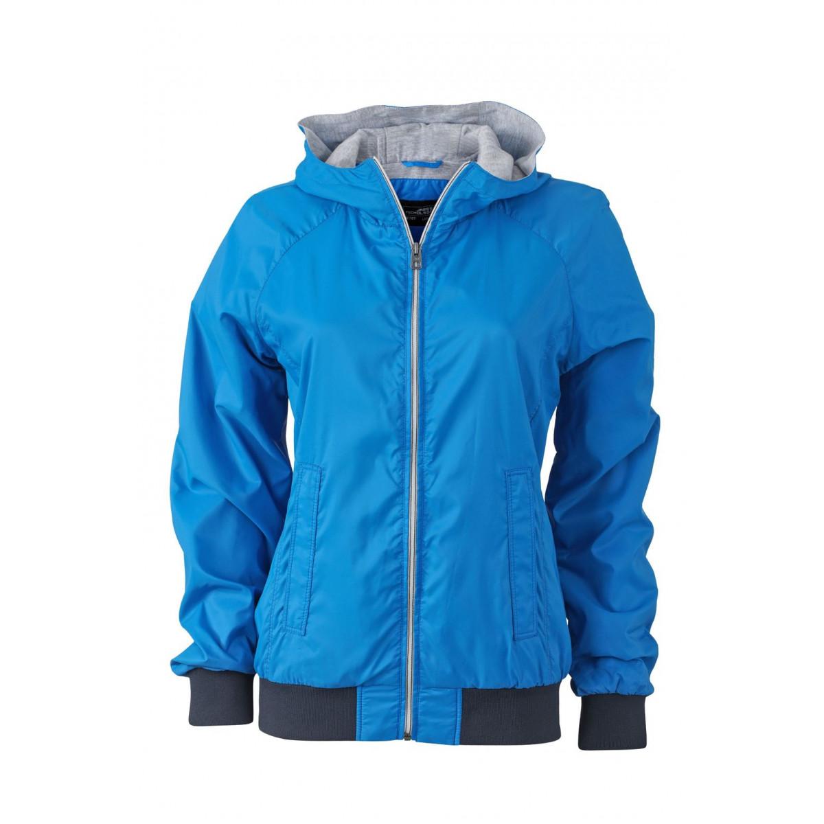 Куртка женская JN1107 Ladies Sports Jacket - Кобальт/Темно-синий