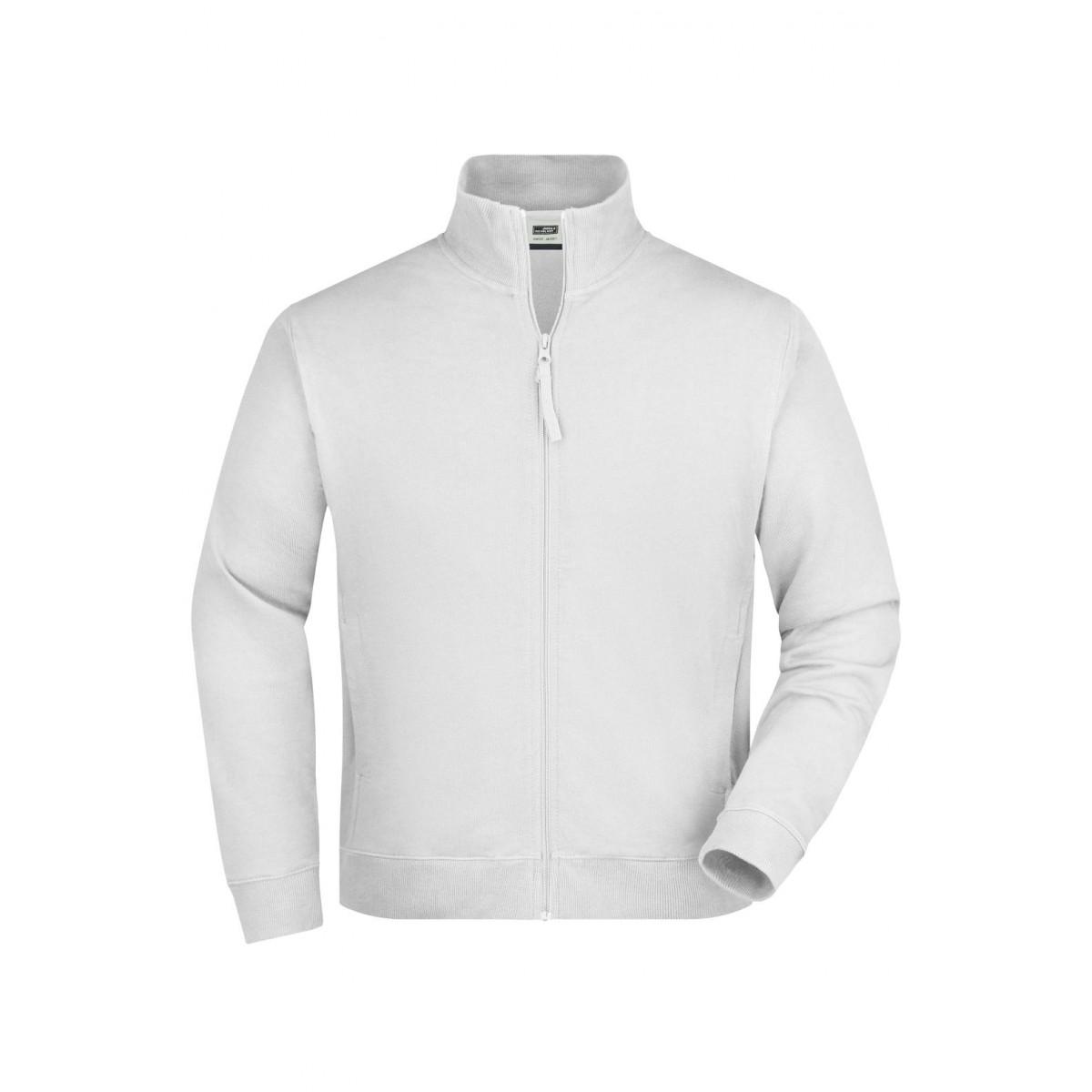 Толстовка мужская JN058 Sweat Jacket - Белый