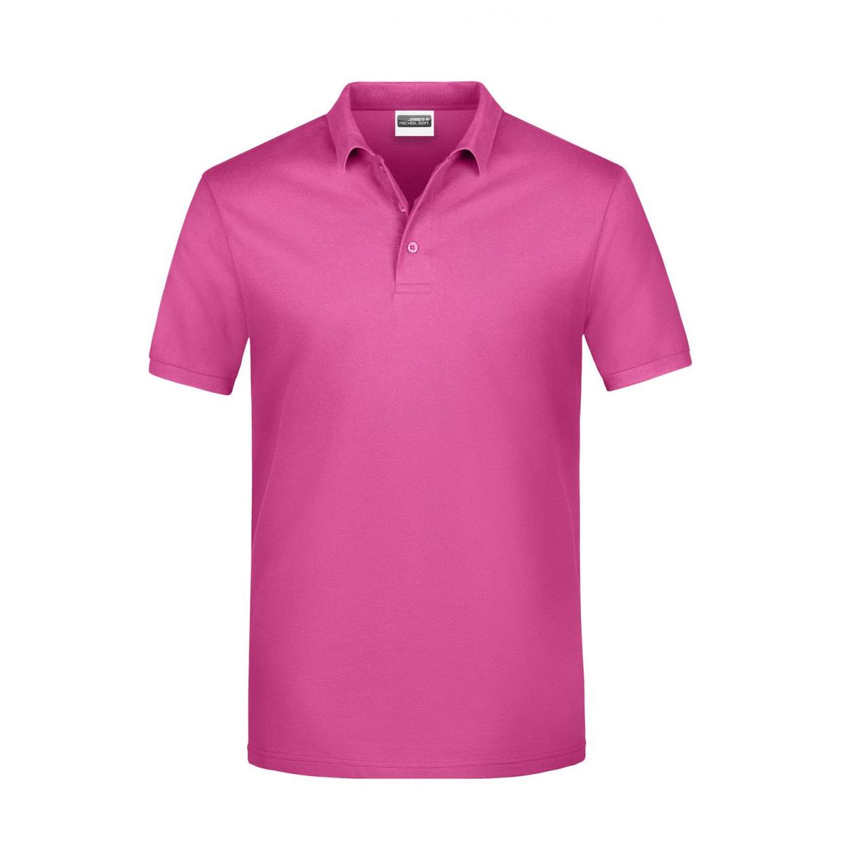 Рубашка поло мужская JN792 Basic Polo Man - Розовый