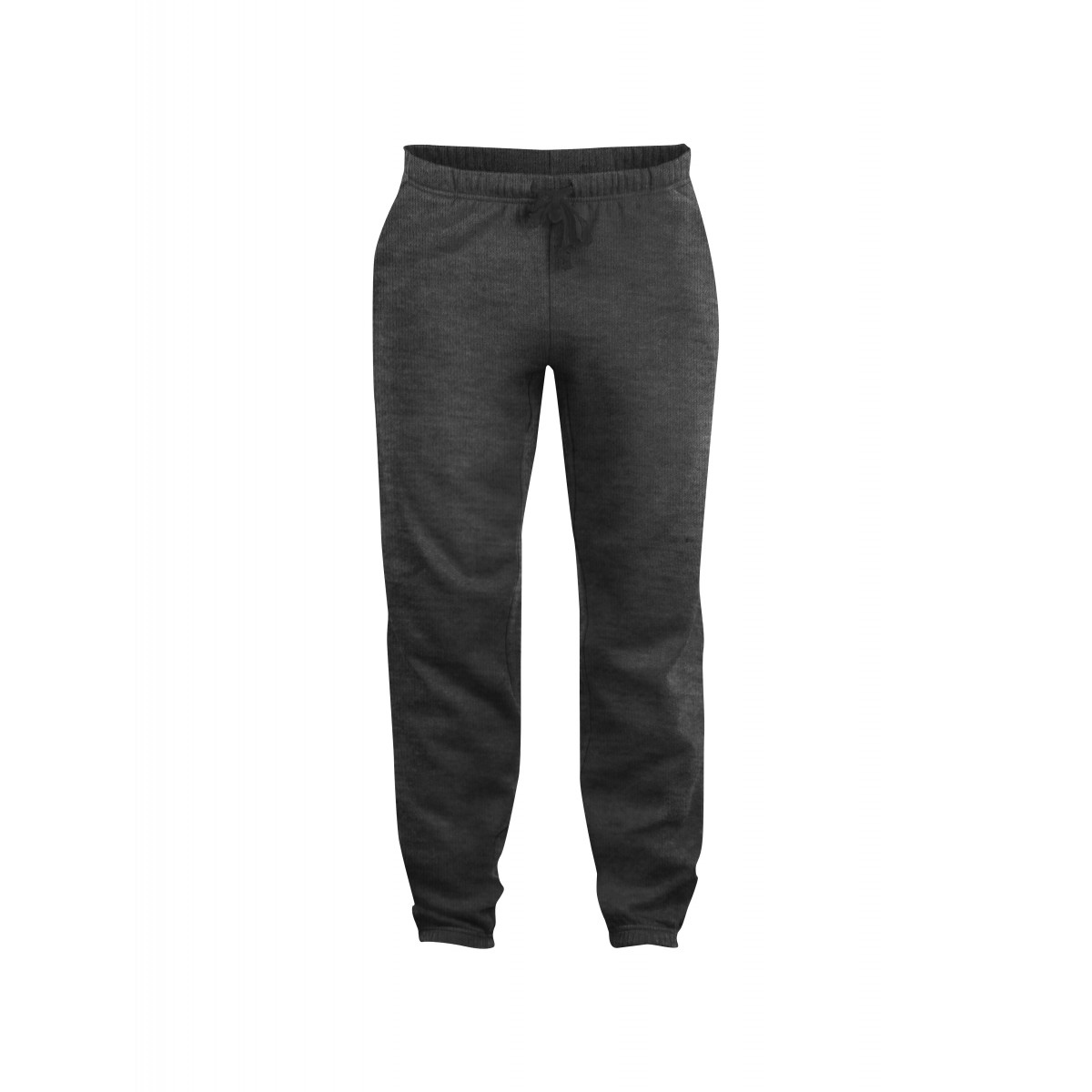 Брюки унисекс 021037 Basic Pants - Темно-серый меланж