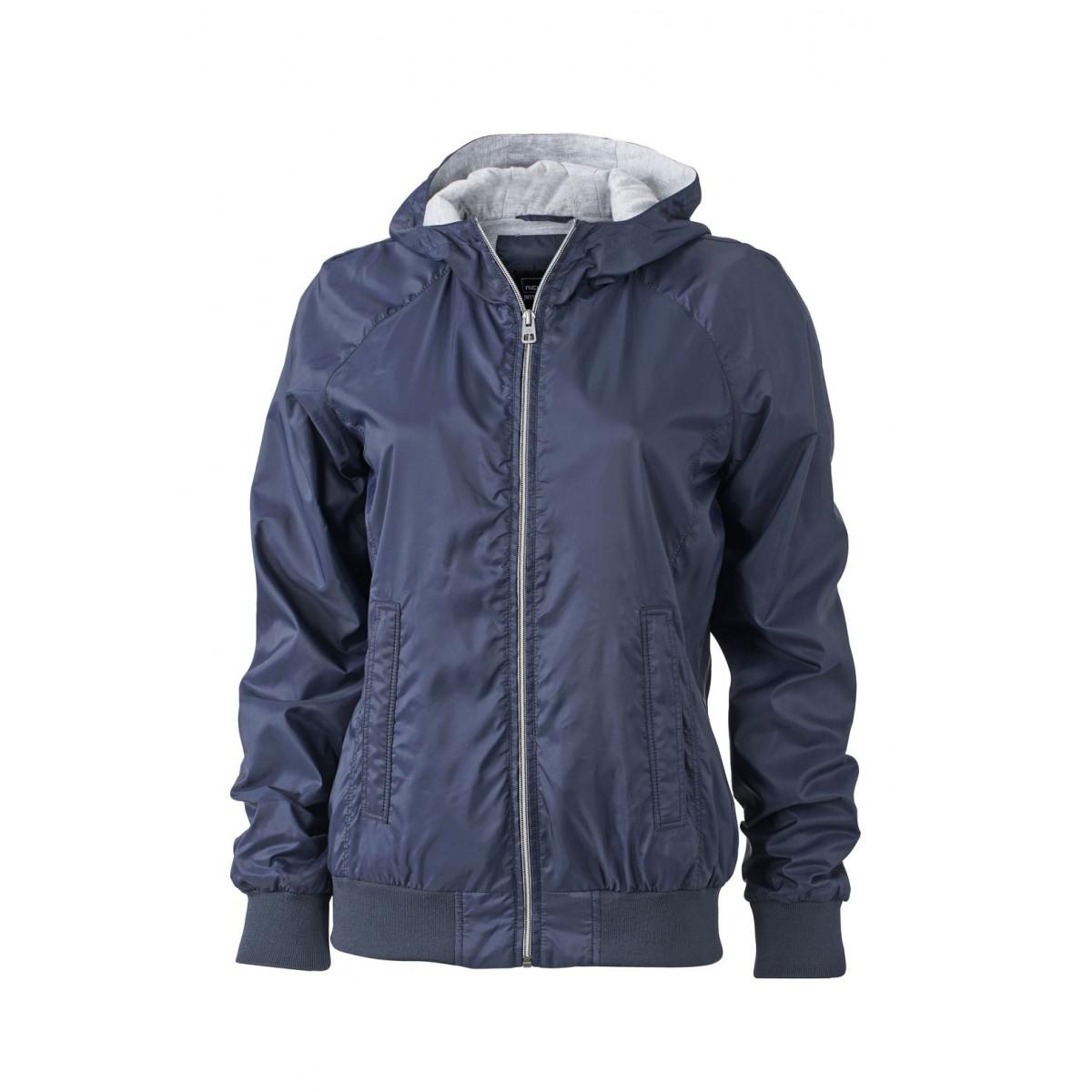 Куртка женская JN1107 Ladies Sports Jacket - Темно-синий/Темно-синий