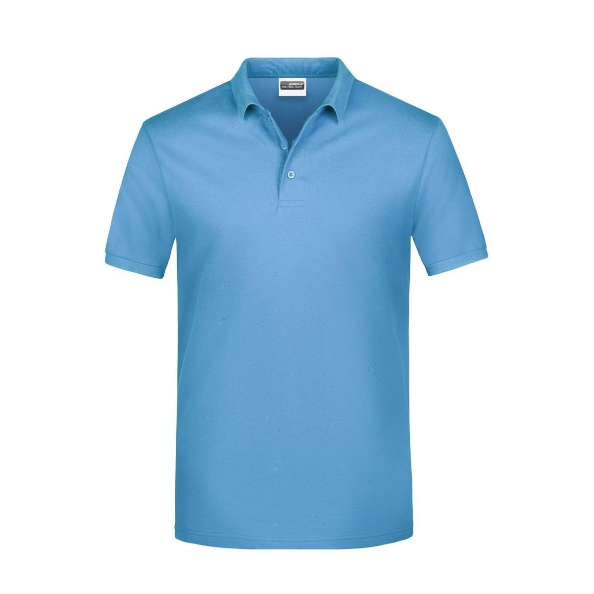 Рубашка поло мужская JN792 Basic Polo Man - Небесно-голубой