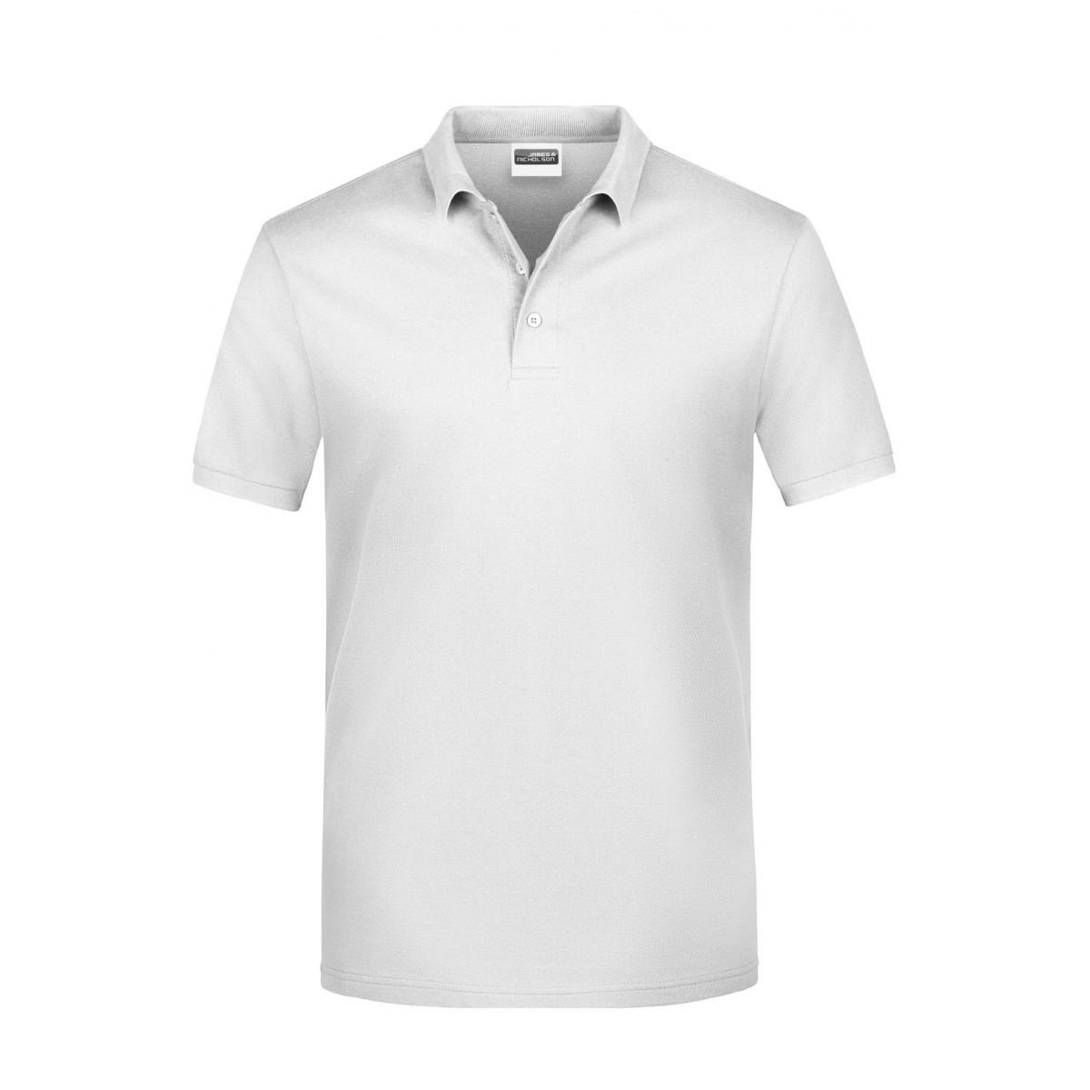 Рубашка поло мужская JN792 Basic Polo Man - Белый
