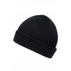 Шапка MB7501 Knitted Cap for Kids - Черный