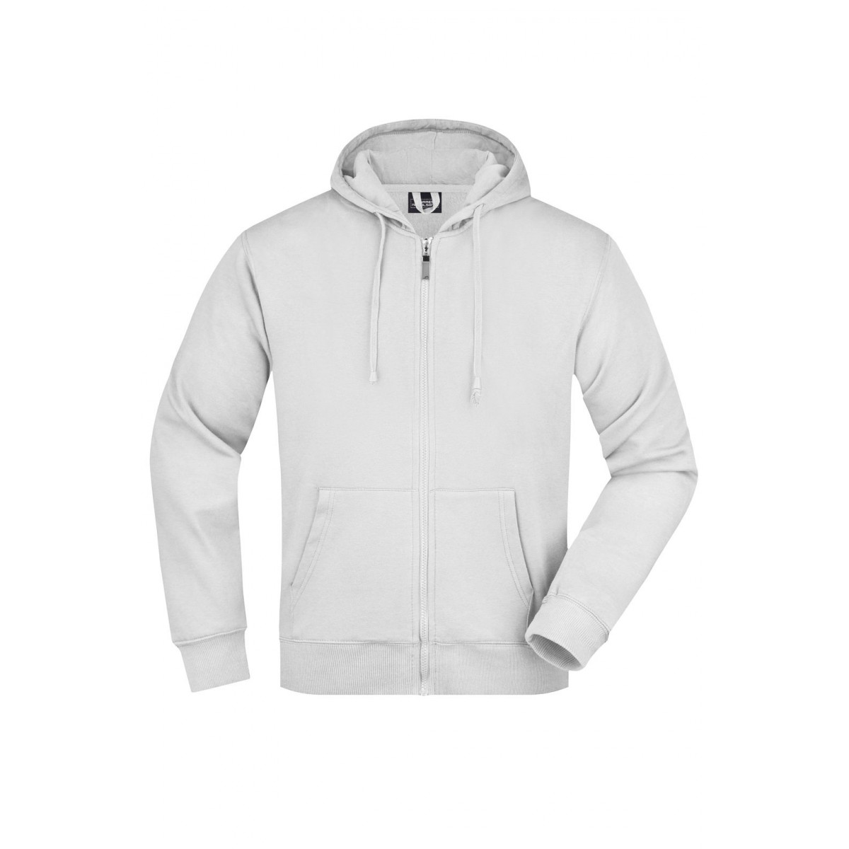 Толстовка мужская JN042 Mens Hooded Jacket - Белый