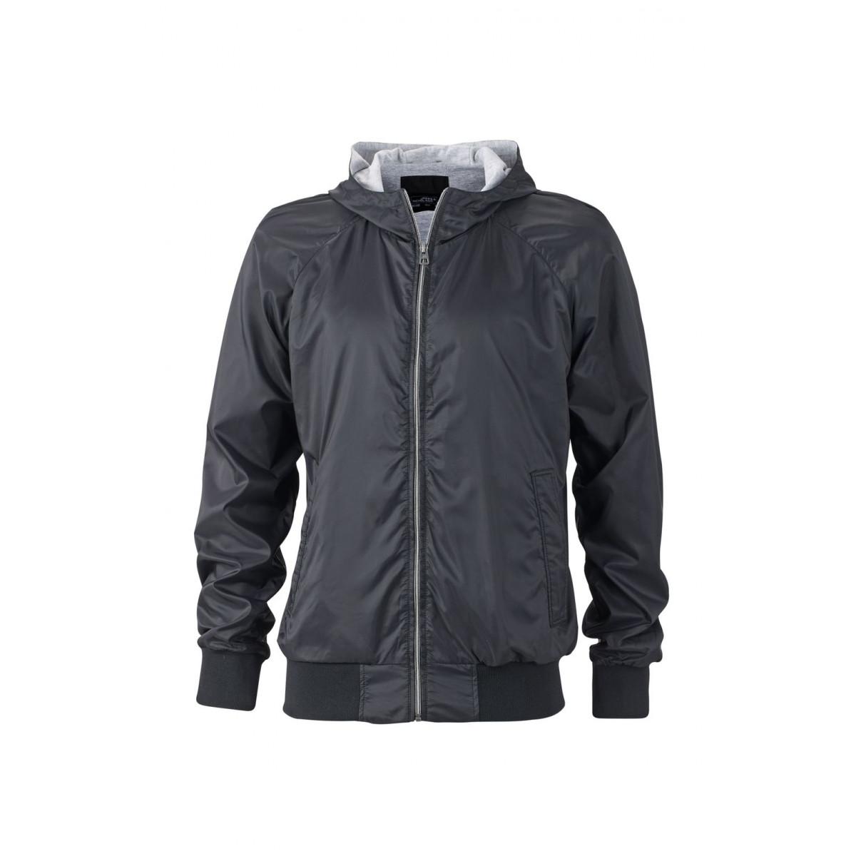 Куртка мужская JN1108 Mens Sports Jacket - Черный/Черный