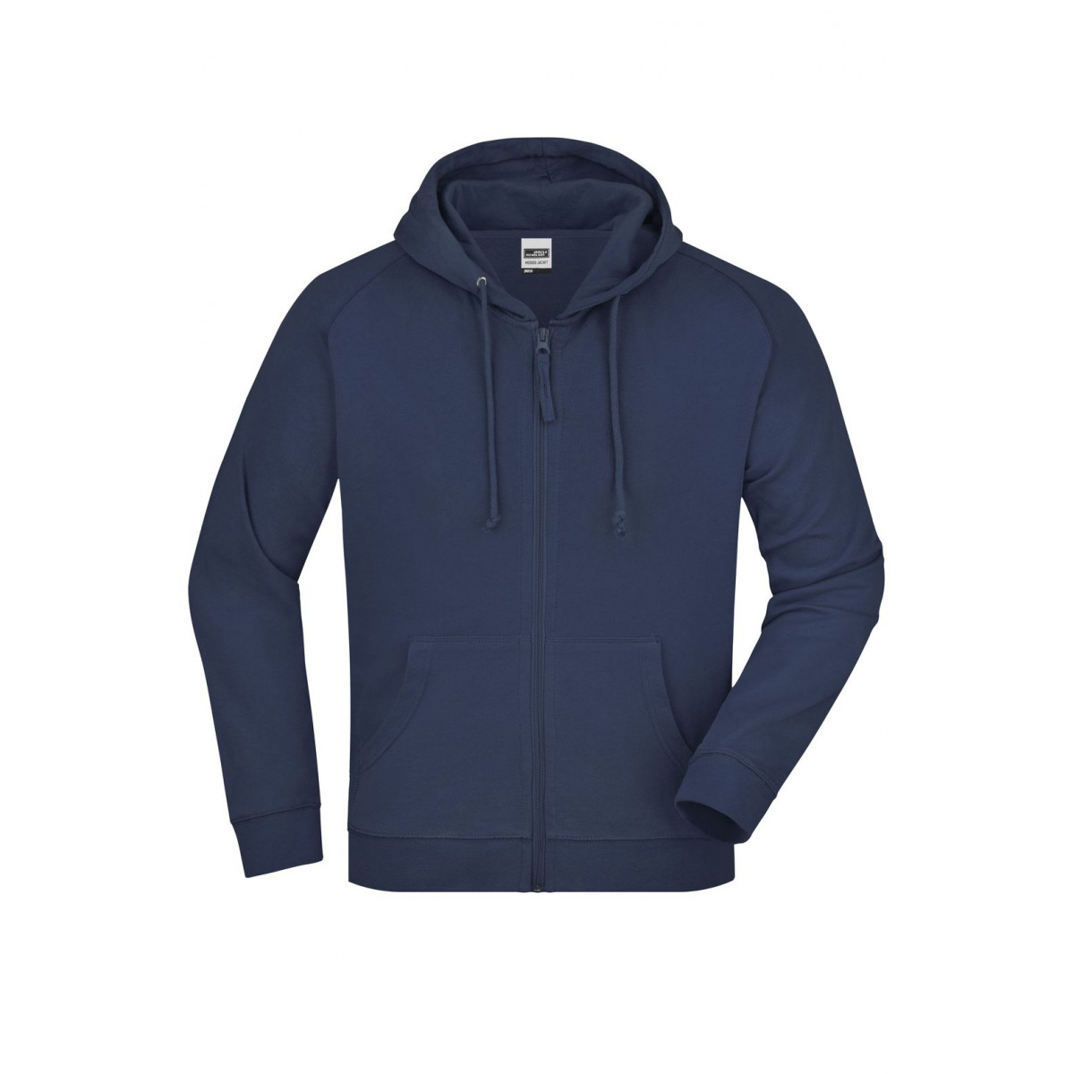 Толстовка мужская JN059 Hooded Jacket - Темно-синий