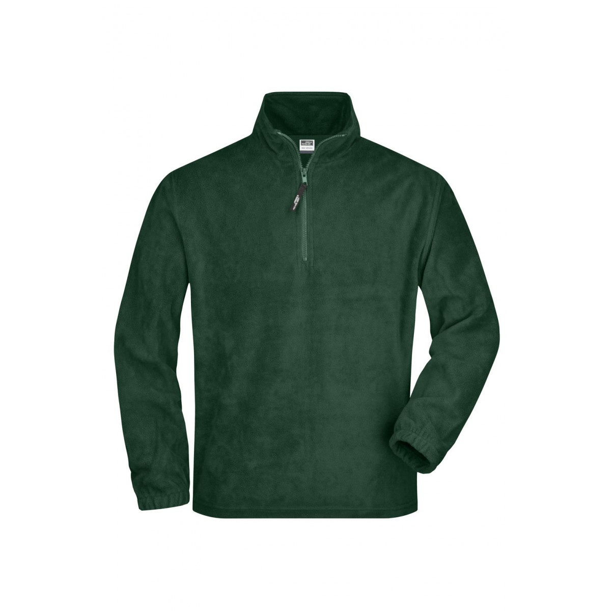 Толстовка мужская JN043 Half-Zip Fleece - Темно-зеленый
